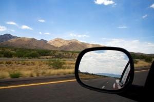 year 5 car mirror