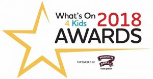 What's On 4 Kids 2018 Awards Logo